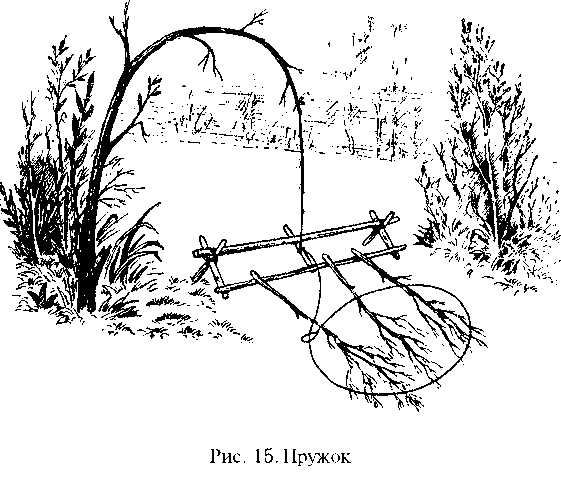 Как сделать петлю на кабана из тросика 3